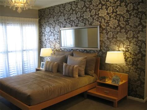 bedroom feature wall bedroom wallpaper feature wall 33 decor ideas