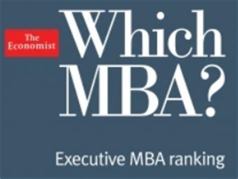 Global Executive Mba Rankings 2013 by Economist Executive Mba Ranking 2013