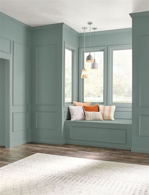 behr s color of the year is a light blue green