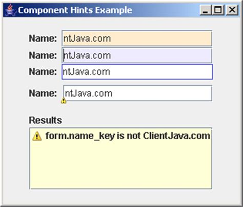 builder pattern java validation component hints exle data validation 171 swing