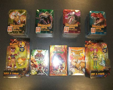 dinosaur king trading card game   booster packs  collectable tin ebay