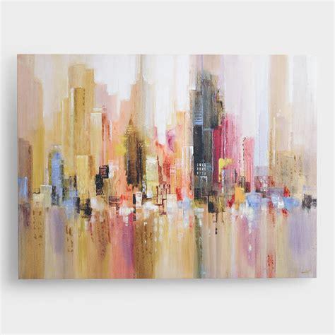 kitchen artwork modern quot city spree quot by michael longo world market