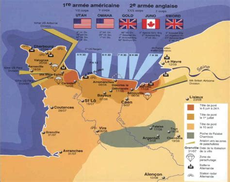 d day map d day map