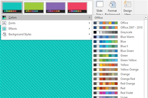 powerpoint themes and variants a powerpoint guide to themes and smartart get my graphics