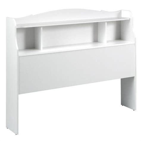 bookshelf headboard in white 315303 x