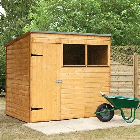7 X 5 Pent Shed hartwood 7 x 5 fsc pent shed what shed