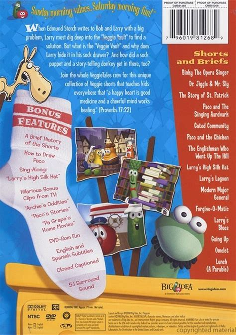 Veggie Tales Lesson From The Sock Drawer by Veggie Tales Lessons From The Sock Drawer Dvd 2008