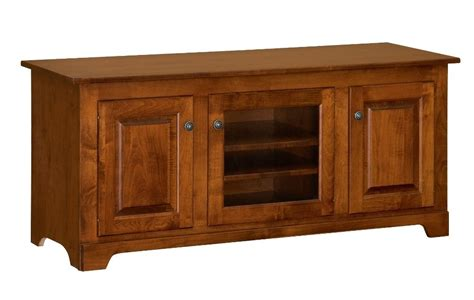 real wood tv stands amish solid wood tv stand 56 quot console cabinet plasma lcd