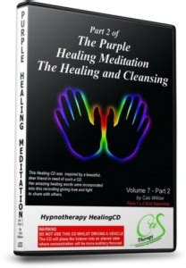 Healing Mediations For Detox by Hypnotherapy Products Purple Healing Meditation Part 2