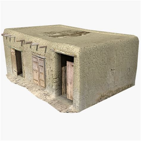 kabul house afghan house 07 3d model