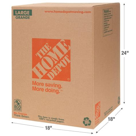 l in a box the home depot 18 in l x 18 in w x 24 in d large box