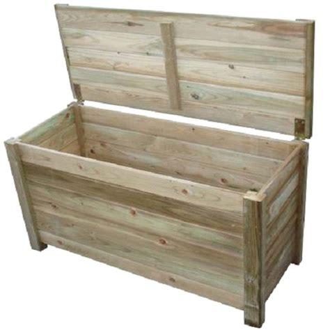 cassapanca in legno da giardino cassapanca da giardino wendy in legno arredo giardino