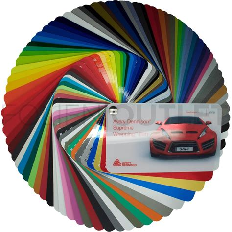 Autofolie Omega Plus by Avery Supreme Wrapping Color Sle Selector
