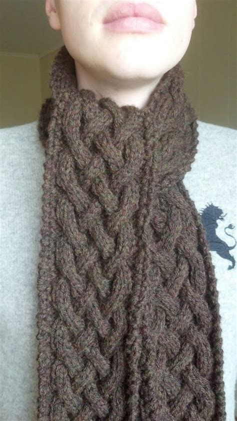celtic cable knit scarf pattern 1000 images about knitting crochet patterns on