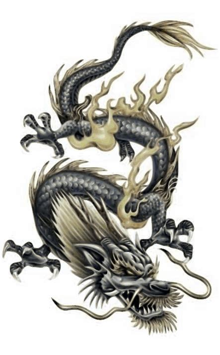tatoos japanese dragon flash tattoo