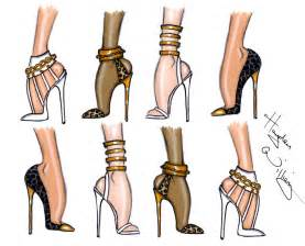 Hayden williams fashion illustrations shoe sketches