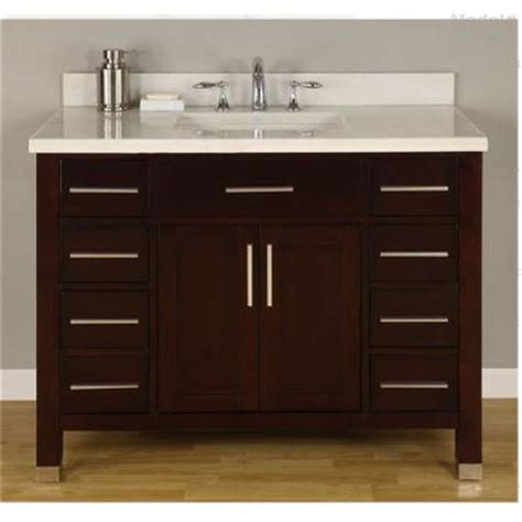 monaco 42 quot single bathroom vanity set wayfair