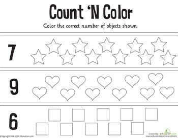 math counting coloring pages count n color the numbers 5 10 colors the o jays and