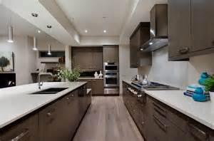 Custom Outdoor Fireplaces - west coast modern home modern kitchen