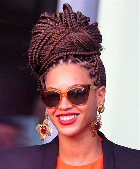 Stylish african american hairstyles for women box braids via