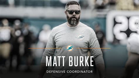 matt burke football dolphins promote matt burke to dc