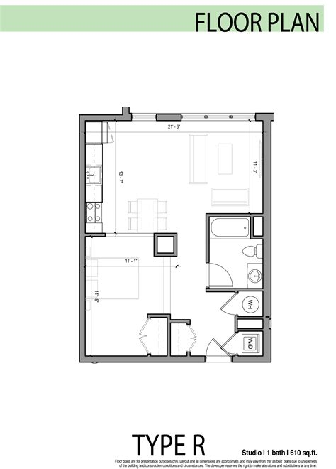 floor plan studio allston luxury buildings archives