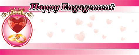 design engagement banner engagement wedding anniversary partyrama