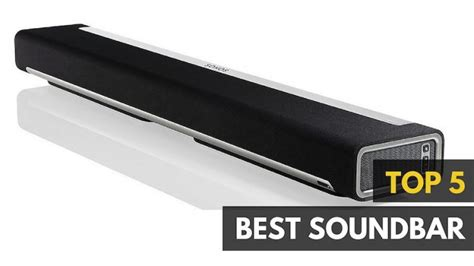 top rated tv sound bars best soundbar 2017