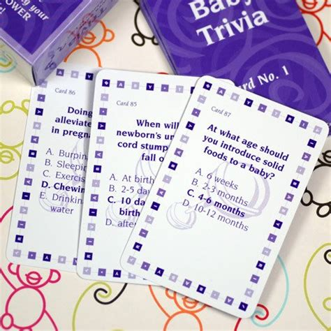 Baby Shower Trivia by Baby Shower Trivia Cards