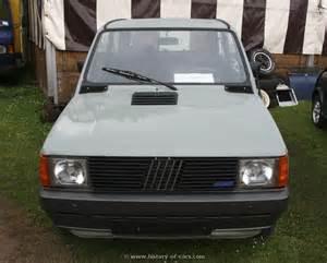 Fiat Panda 4x4 Price List Fiat 1983 Panda 4x4 The History Of Cars Cars