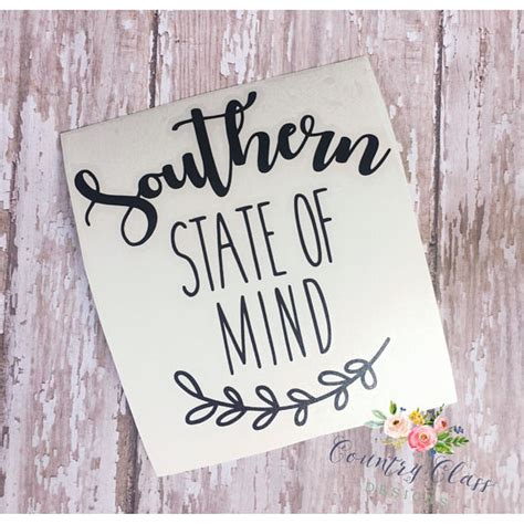 always in a southern state of mind same same but different southern state of mind decal yeti decal car decal