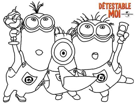 imagenes para dibujar de los minions 100 dibujos de minions para colorear oh kids page 6