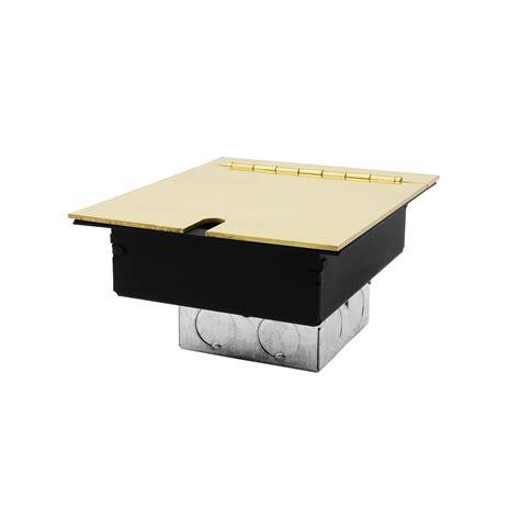 Recessed Floor Box by Recessed Floor Box 2 Recessed Floor Box Polished