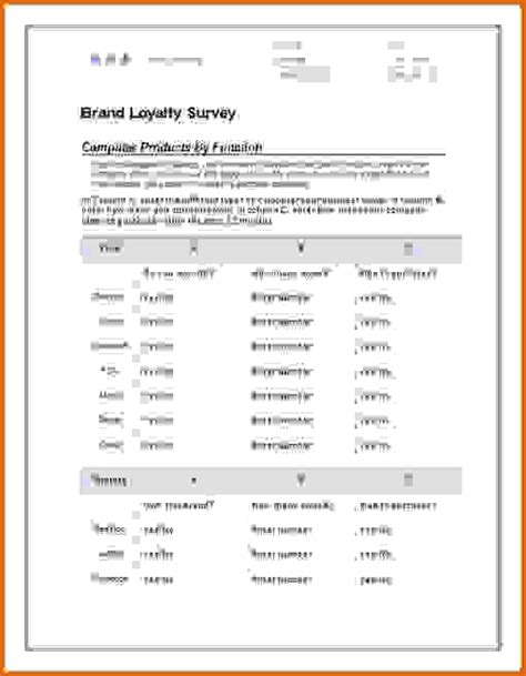 4 Letter Words In Survey 8 microsoft word survey templatereference letters words
