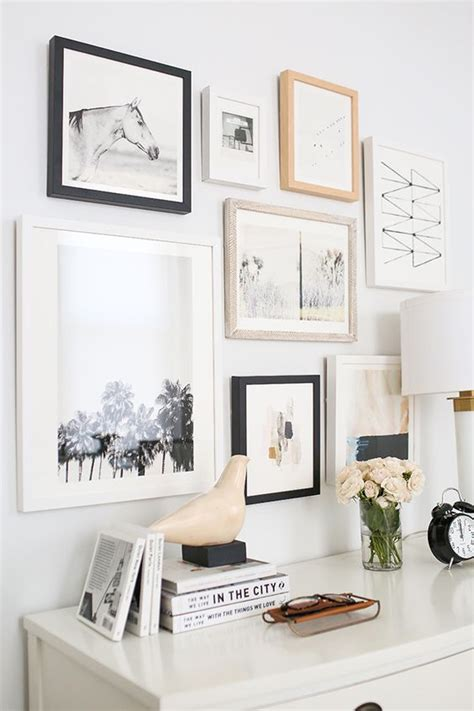 Gallery Art Wall | how to create an art gallery wall 5 tips and 25 ideas