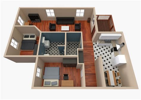 3d model floor plan house floor plan 2 3d model obj 3ds fbx blend dae