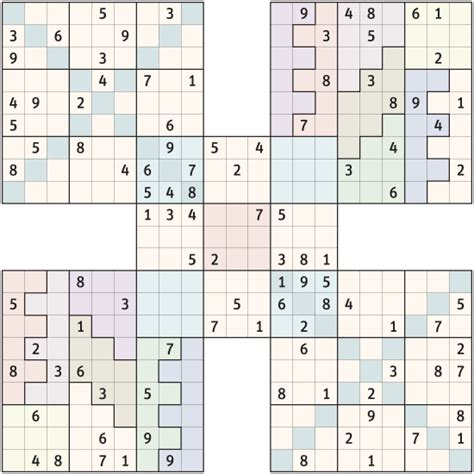 printable triple sudoku puzzles samurai sudoku puzzles book covers