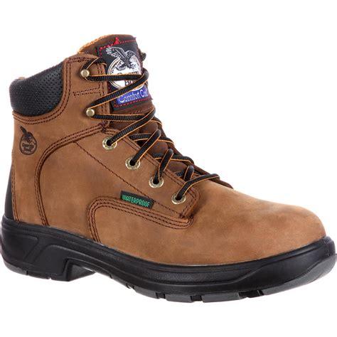 mens comfortable work boots boot s flxpoint comfort waterproof work boots