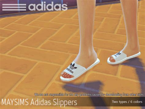 adidas slippers   sims   sims  downloads cc finds  updates pinterest sims