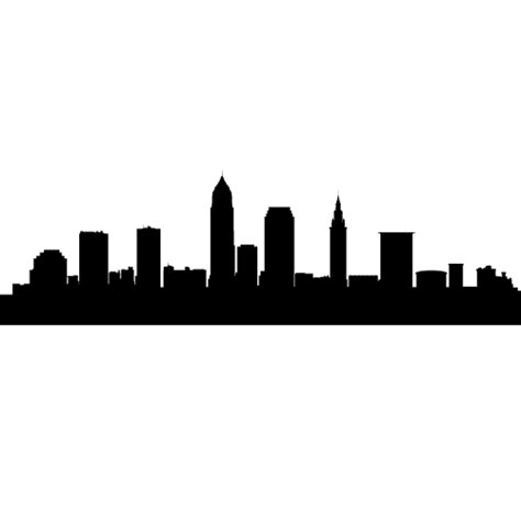 cleveland ohio skyline decals wall decor cleveland
