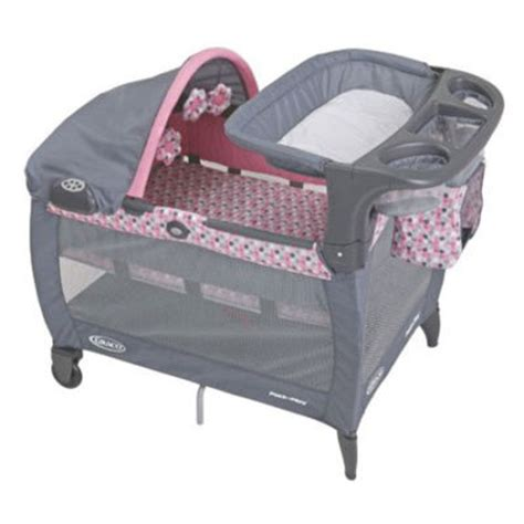 Pink And Brown Graco Pack N Play With Changing Table Graco Ally Pack N Play Pink Gray New Dealsplusdiscounts