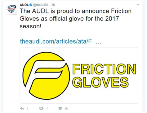 layout gloves vs friction gloves sludge output friction gloves as audl official glove for 2017