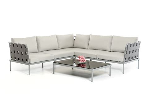 Renava Htons Modern Outdoor Sectional Sofa Set Modern Outdoor Sofa