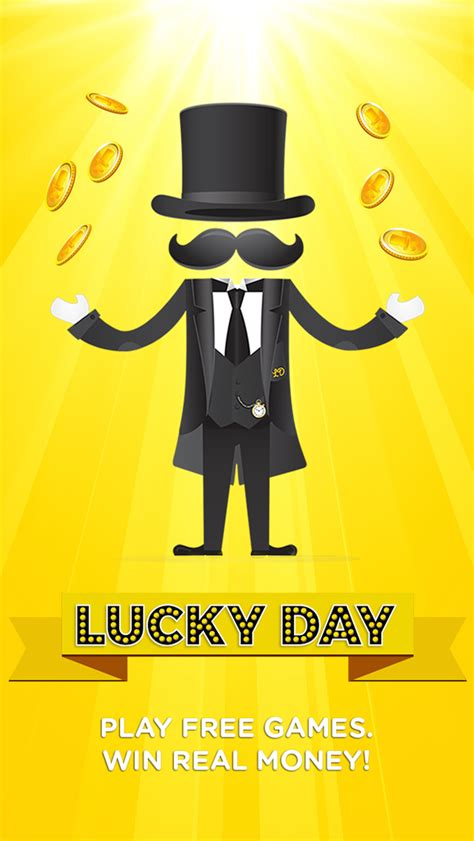 Win Real Money Apps - lucky day play free games win real money ios