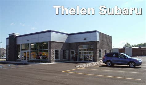 the new thelen subaru store is now open thelen auto