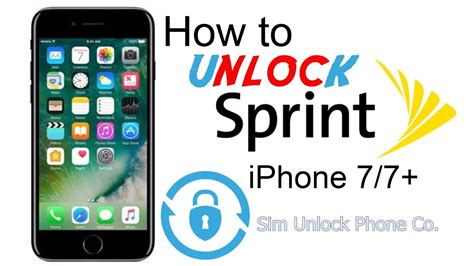 unlock sprint iphone   imei  carrier lock
