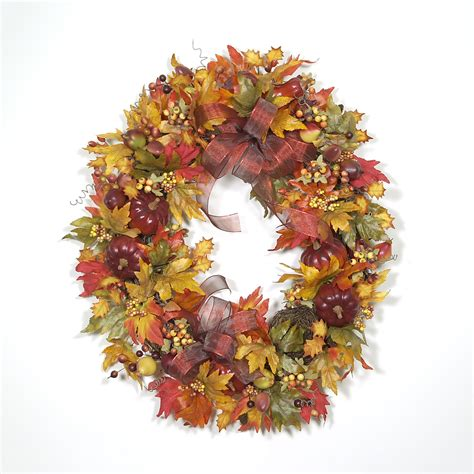 autumn wreaths autumn leaves wreath wreaths unlimited