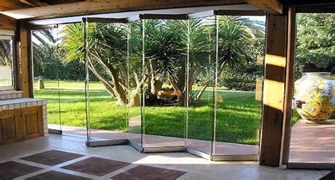 verande a soffietto le vetrate panoramiche pieghevoli tuttovetro giemme system