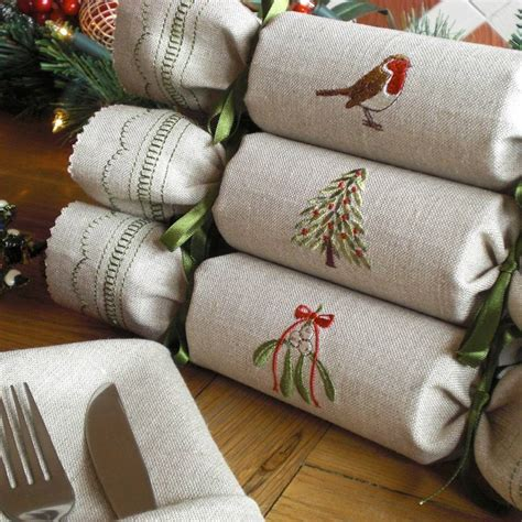 Handmade Crackers Uk - woodland reusable crackers by kate sproston