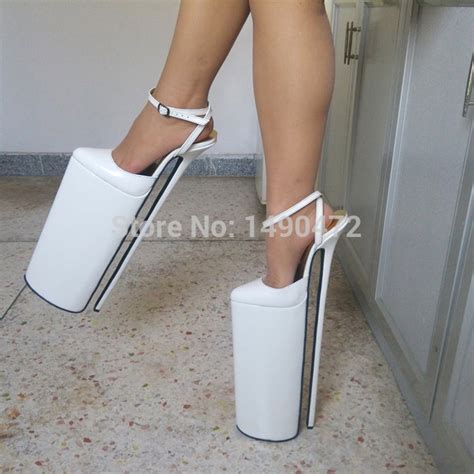 High Heels Nd 02 Berkualitas By For Store new design grain leather high heel 40cm